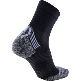 UYN Winter Pro Run Socks Men Black/Pearl Grey